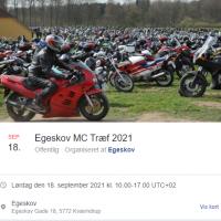 Bikergudstjeneste og Egeskov åbner
